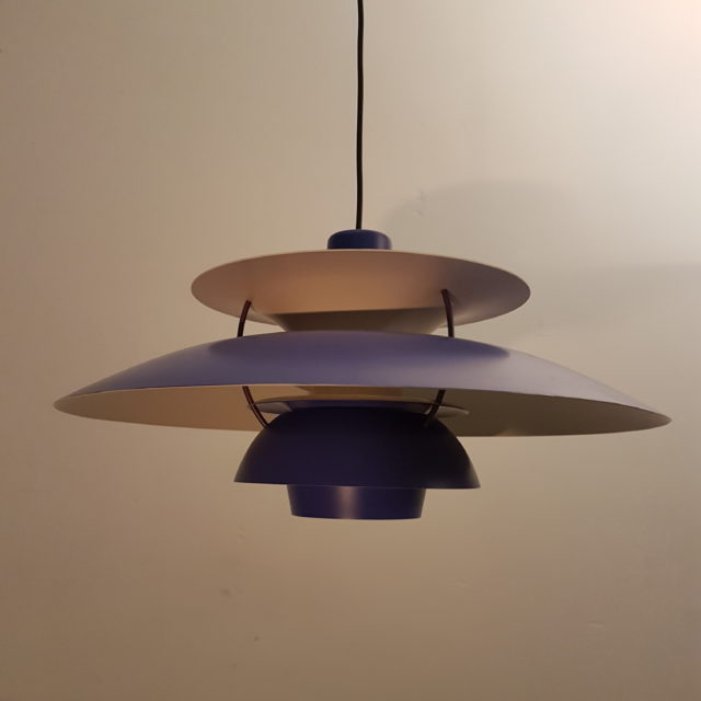 Vintage ph5 pendant by poul henningsen for louis poulsen 1950s vintage ph5 pendant by poul henningsen for louis poulsen 1950s blue version old north interiors aloadofball Image collections
