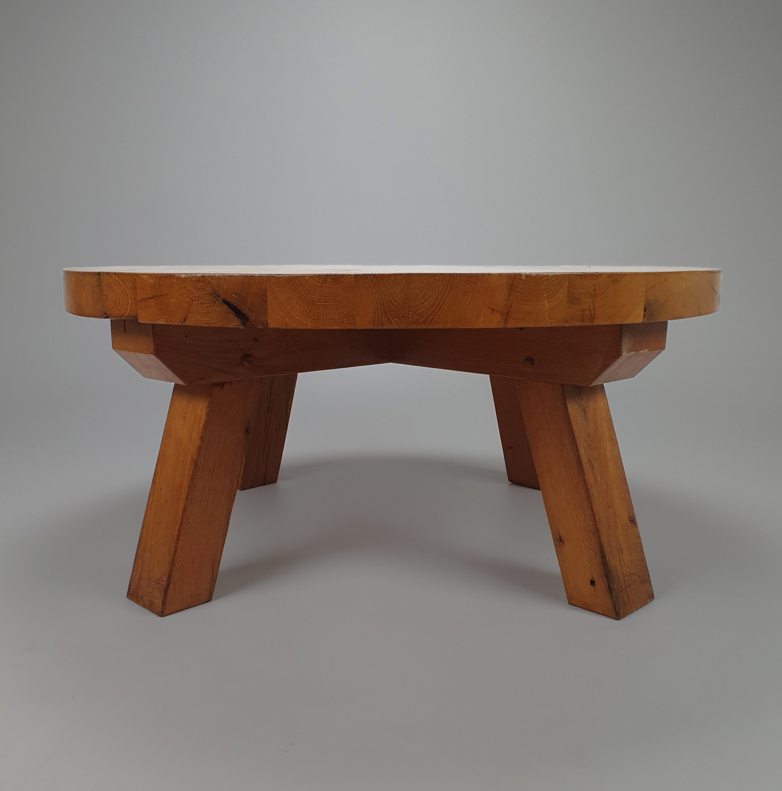 Modernist oak table