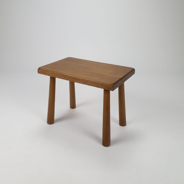 oak sidetable