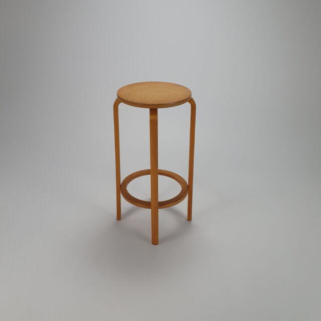 Mid Century Birchwood Bartstool in the Style of Aalto, 1960s