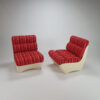 Set of 2 Space Age lounge Chairs, 1960s